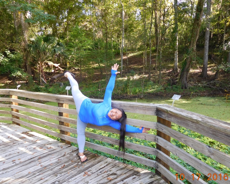 (assisted) flying half moon (ardha chandrasana)